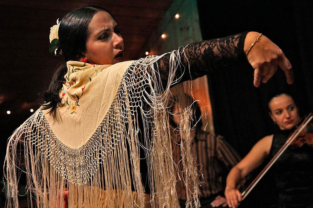Cena y espectáculo flamenco